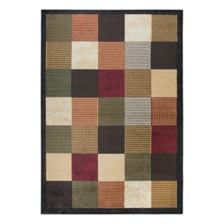Rizzy Home Xceed Transitional Patchwork Trellis Rug