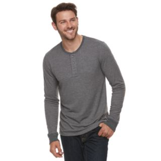 Men's SONOMA Goods for Life? Double-Knit Henley Tee