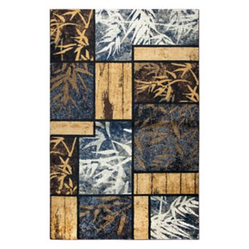 Rizzy Home Xceed Transitional Patchwork II Geometric Rug