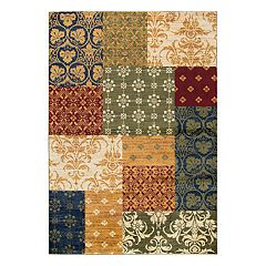 Rizzy Home Xceed Transitional Patchwork III Geometric Rug