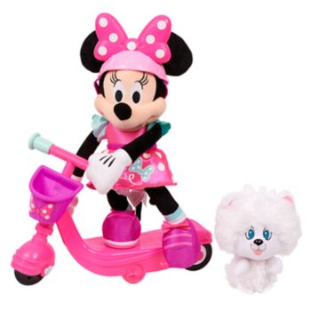 Disney's Sing and Spin Scooter Minnie Plush