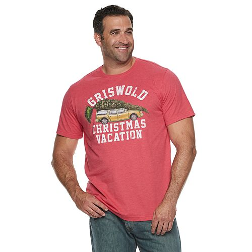 Big & Tall National Lampoon's Christmas Vacation Griswold Tee