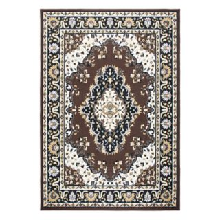 Rizzy Home Xcite Traditional Central Medallion II Geometric Rug