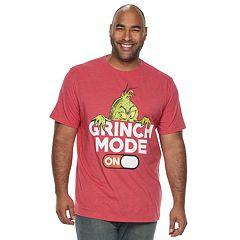 Big & Tall Dr. Seuss The Grinch 'Grinch Mode' Tee