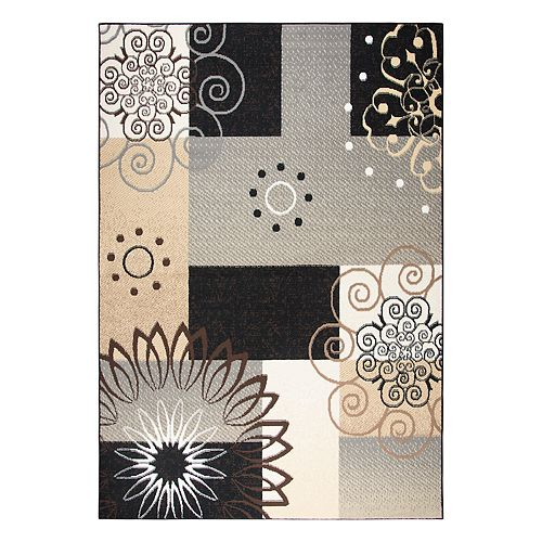 Rizzy Home Xcite Transitional Patchwork III Geometric Rug