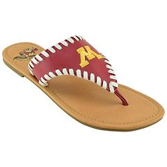 Women's Minnesota Golden Gophers Stitched Flip-Flops