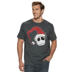 Big & Tall The Nightmare Before Christmas Jack Skellington Santa Tee