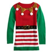 Girls 7-16 It's Our Time Elf Costume Tunic
