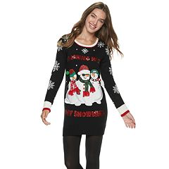 Juniors' It's Our Time 'Hanging With My Snowmies' Christmas Tunic