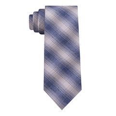 Van Heusen Solid Skinny Tie with Tie Bar - Men