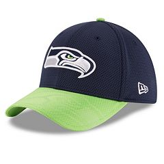 Adult New Era Seattle Seahawks 39THIRTY Sideline Flex-Fit Cap