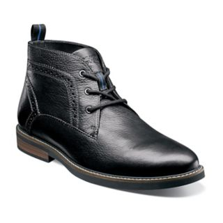 Nunn Bush Ozark Men?s Plain Toe Dress Chukka Boots