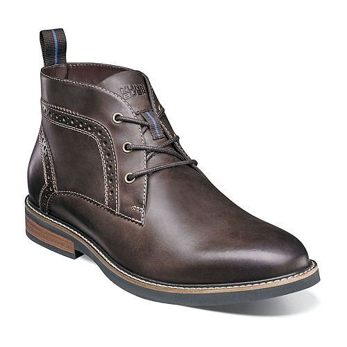 Nunn Bush Ozark Men's Plain Toe Dress Chukka Boots