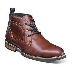 Nunn Bush Ozark Men's Plain Toe Dress Chukka Boots