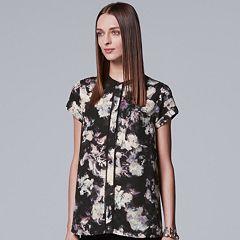 Women's Simply Vera Vera Wang Essential Popover Top