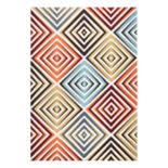 Rizzy Home Xpression Contemporary Diamond Trellis Rug