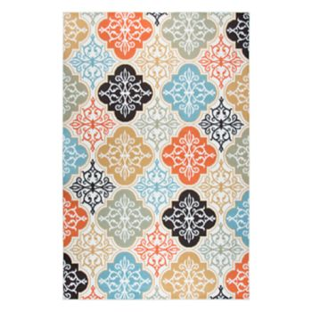 Rizzy Home Xpression Transitional Medallion Geometric Rug