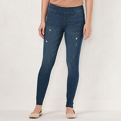 Women's LC Lauren Conrad Pull-On Skinny Ankle Jeggings
