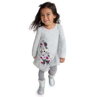 Disney's Minnie Mouse Toddler Girl French Terry Swing Dress by Jumping Beans®