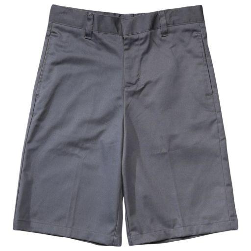 Boys 4-20 French Toast School Uniform Flat-Front Adjustable-Waist Shorts