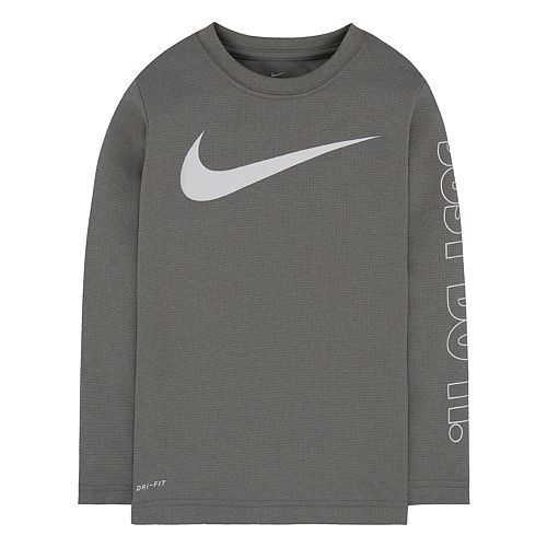 "Boys 4-7 Nike Swoosh ""Just Do It."" Tee"
