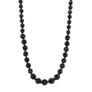 1928 Black Bead Necklace
