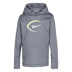 Boys 4-7 Nike Sporty Dri-FIT Waffle Knit Pullover Hoodie