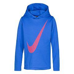 Boys 4-7 Nike Swoosh Thermal Pullover Hoodie
