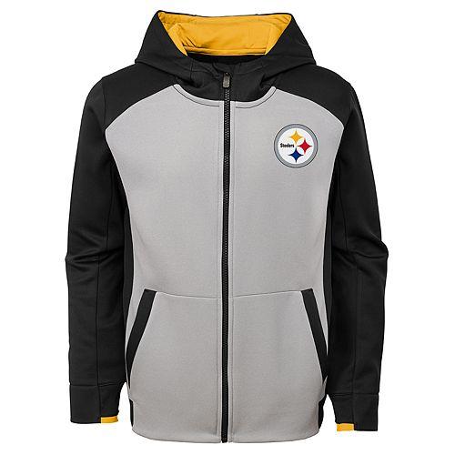 big sale 48c70 055a1 Boys 8-20 Pittsburgh Steelers Hi-Tech Hoodie