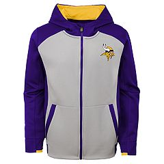 Boys 8-20 Minnesota Vikings Hi-Tech Hoodie