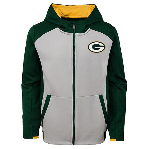 Boys 8-20 Green Bay Packers Hi-Tech Hoodie