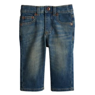 Baby Boy Jumping Beans® Straight Stretchy Jeans