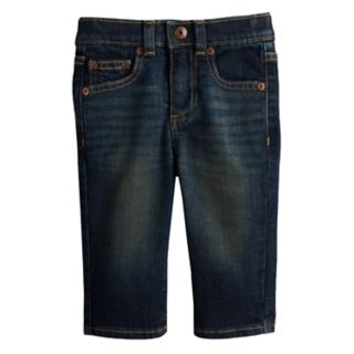 Baby Boy Jumping Beans® Straight Dark Jeans
