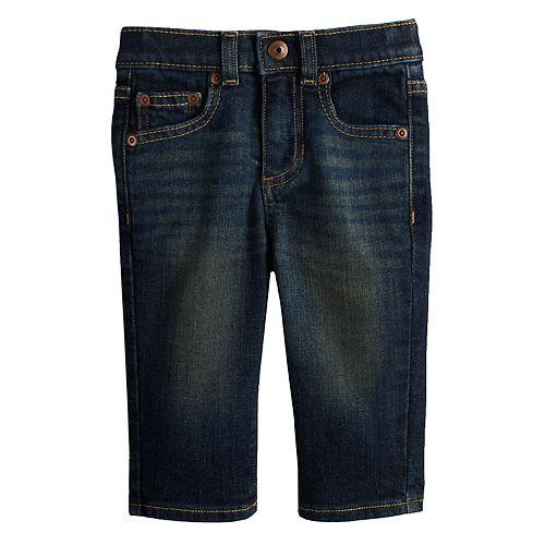 Baby Boy Jumping Beans® Straight Dark Jeans