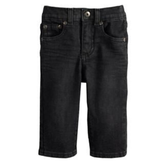 Baby Boy Jumping Beans® Black Straight Jeans