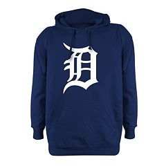 Men's Stitches Detroit Tigers Pullover Fleece Hoodie