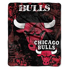 Chicago Bulls Dropdown Raschel Throw by Northwest