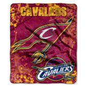 Cleveland Cavaliers Dropdown Raschel Throw by Northwest