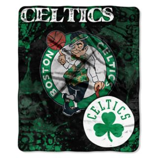 Boston Celtics Dropdown Raschel Throw by Northwest