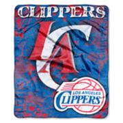 Los Angeles Clippers Dropdown Raschel Throw by Northwest