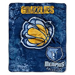 Memphis Grizzlies Dropdown Raschel Throw by Northwest