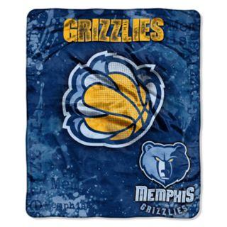 Memphis Grizzlies Dropdown Raschel Throw by Northwest