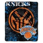 New York Knicks Dropdown Raschel Throw by Northwest