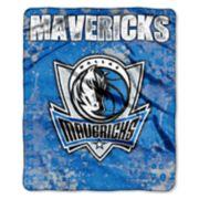 Dallas Mavericks Dropdown Raschel Throw by Northwest