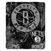 Brooklyn Nets Dropdown Raschel Throw by Northwest