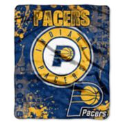 Indiana Pacers Dropdown Raschel Throw by Northwest