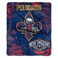 New Orleans Pelicans Dropdown Raschel Throw by Northwest