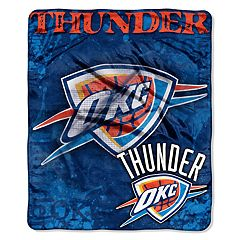 Oklahoma City Thunder Dropdown Raschel Throw by Northwest