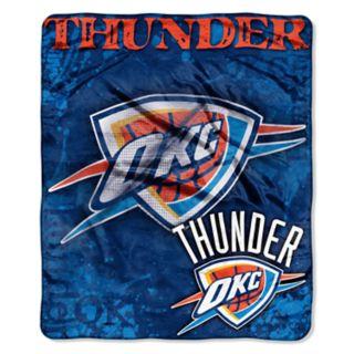 Oklahoma City Thunder Dropdown Raschel Throw by Northwest