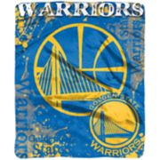 Golden State Warriors Dropdown Raschel Throw by Northwest